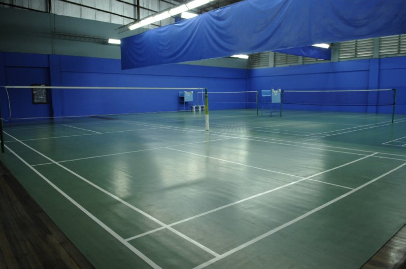 Indoor badminton court images for Indoor badminton court height